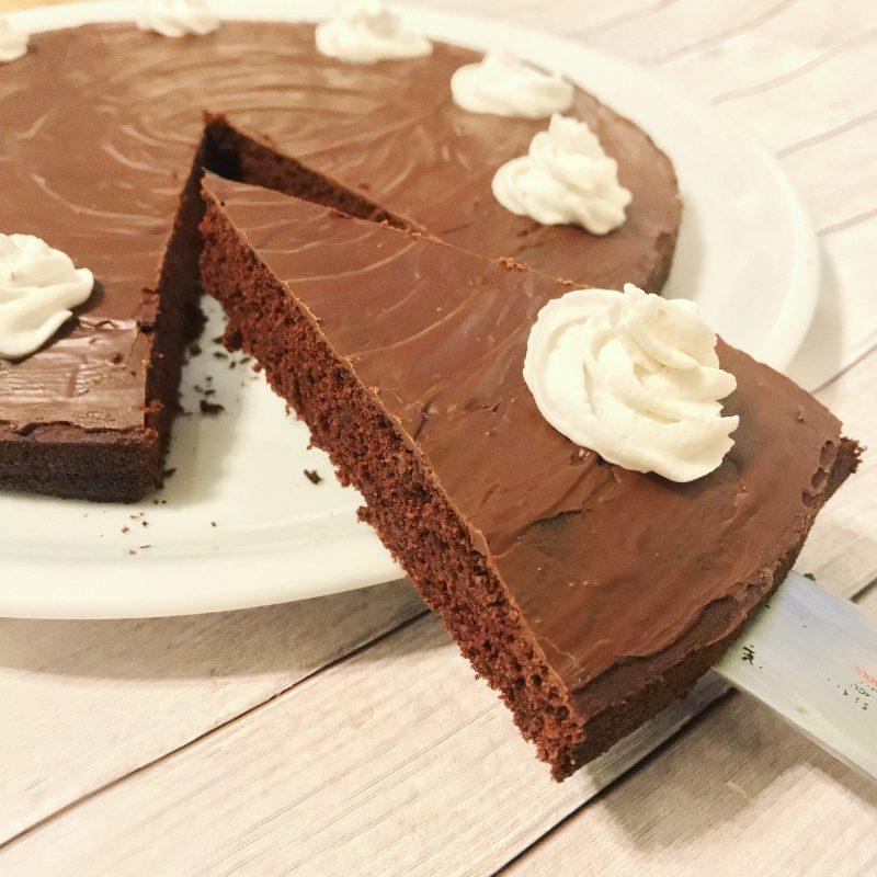 Gesunder Schoko Tortenboden Vegan Glutenfrei Eat Superfoods